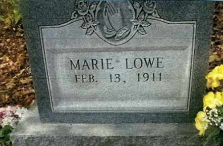 LOWE, MARIE - Vinton County, Ohio | MARIE LOWE - Ohio Gravestone Photos