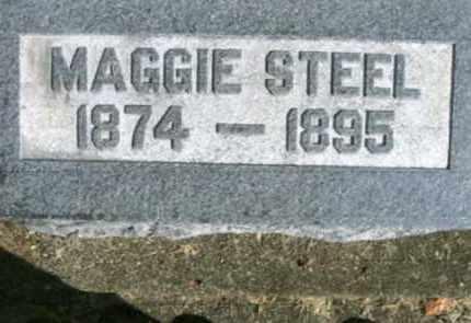 MAGGIE, STEEL - Vinton County, Ohio | STEEL MAGGIE - Ohio Gravestone Photos