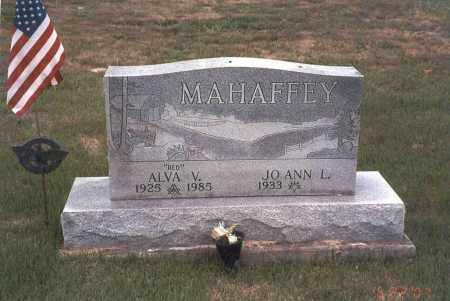 "MAHAFFEY, ALVA V. ""RED"" - Vinton County, Ohio 