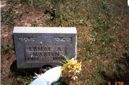 MARTIN, ERMAL A. - Vinton County, Ohio | ERMAL A. MARTIN - Ohio Gravestone Photos