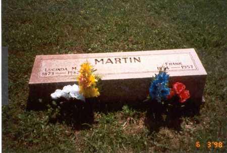 RADCLIFF MARTIN, LUCINDA M. - Vinton County, Ohio | LUCINDA M. RADCLIFF MARTIN - Ohio Gravestone Photos