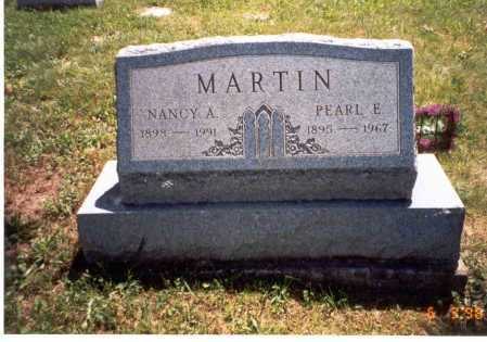 MARTIN MARTIN, NANCY A. - Vinton County, Ohio | NANCY A. MARTIN MARTIN - Ohio Gravestone Photos