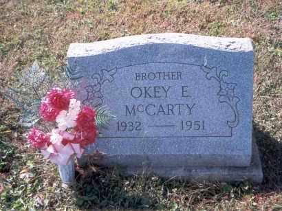 MCCARTY, OKEY EUGENE - Vinton County, Ohio | OKEY EUGENE MCCARTY - Ohio Gravestone Photos