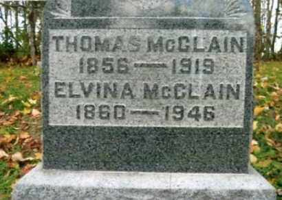 MCCLAIN, THOMAS - Vinton County, Ohio | THOMAS MCCLAIN - Ohio Gravestone Photos