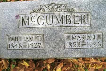 CROWLEY MCCUMBER, MARIAH - Vinton County, Ohio | MARIAH CROWLEY MCCUMBER - Ohio Gravestone Photos