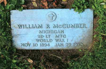 MCCUMBER, WILLIAM R. - Vinton County, Ohio | WILLIAM R. MCCUMBER - Ohio Gravestone Photos