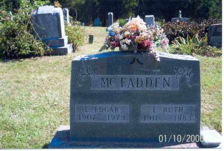 MCFADDEN, E. RUTH - Vinton County, Ohio | E. RUTH MCFADDEN - Ohio Gravestone Photos
