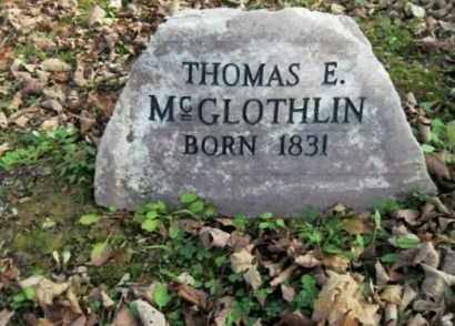 MCGLOTHLIN, THOMAS ERVIN. - Vinton County, Ohio | THOMAS ERVIN. MCGLOTHLIN - Ohio Gravestone Photos