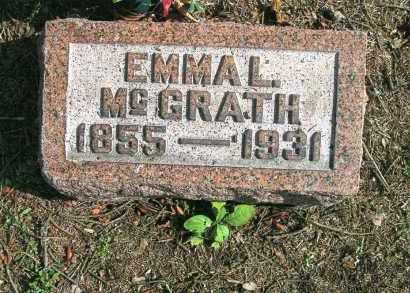MCGRATH, EMMA L. - Vinton County, Ohio | EMMA L. MCGRATH - Ohio Gravestone Photos