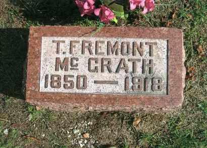 MCGRATH, T. FREMONT - Vinton County, Ohio | T. FREMONT MCGRATH - Ohio Gravestone Photos