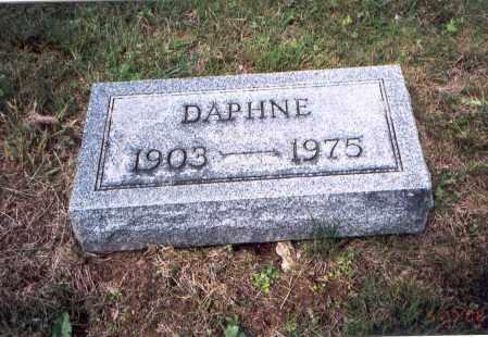 MCLAUGHLIN, DAPHNE LEONA - Vinton County, Ohio | DAPHNE LEONA MCLAUGHLIN - Ohio Gravestone Photos