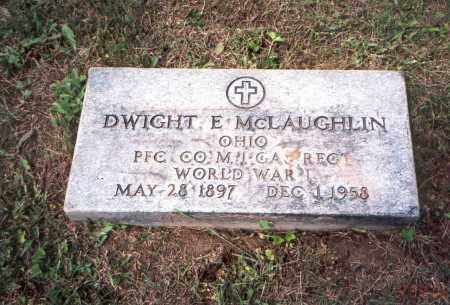 MCLAUGHLIN, DWIGHT E. - Vinton County, Ohio | DWIGHT E. MCLAUGHLIN - Ohio Gravestone Photos