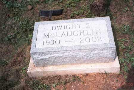 MCLAUGHLIN, DWIGHT ELWOOD - Vinton County, Ohio | DWIGHT ELWOOD MCLAUGHLIN - Ohio Gravestone Photos