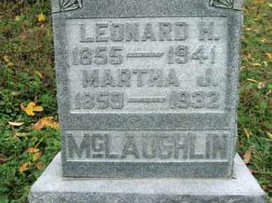 MCLAUGHLIN, LEONARD HARVEY - Vinton County, Ohio | LEONARD HARVEY MCLAUGHLIN - Ohio Gravestone Photos