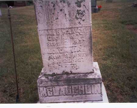 MCLAUGHLIN, MINNIE - Vinton County, Ohio | MINNIE MCLAUGHLIN - Ohio Gravestone Photos