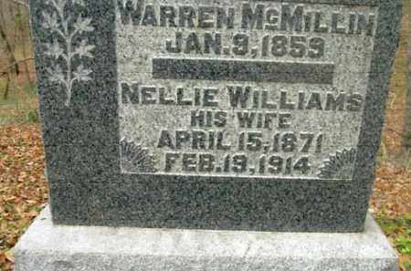 MCMILLIN, WARREN - Vinton County, Ohio | WARREN MCMILLIN - Ohio Gravestone Photos