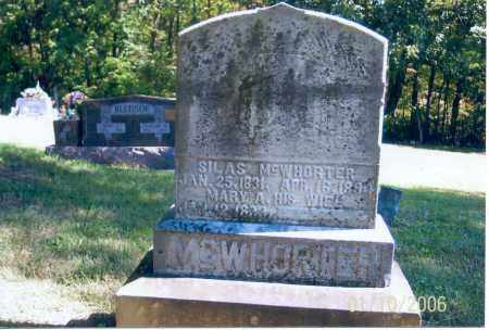 MCWHORTER, SILAS - Vinton County, Ohio | SILAS MCWHORTER - Ohio Gravestone Photos