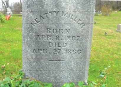 MILLER, BEATTY - Vinton County, Ohio | BEATTY MILLER - Ohio Gravestone Photos