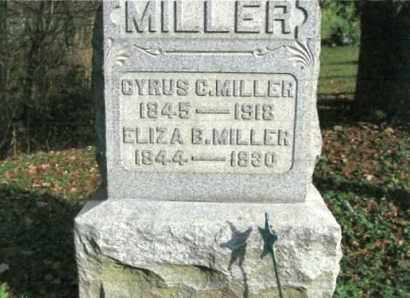BANE MILLER, ELIZA B. - Vinton County, Ohio | ELIZA B. BANE MILLER - Ohio Gravestone Photos