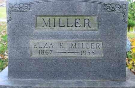 MILLER, ELZA E. - Vinton County, Ohio | ELZA E. MILLER - Ohio Gravestone Photos