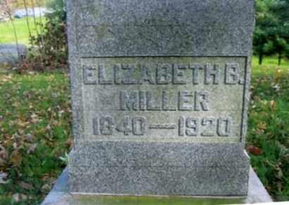 MILLER, ELIZABETH B. - Vinton County, Ohio | ELIZABETH B. MILLER - Ohio Gravestone Photos