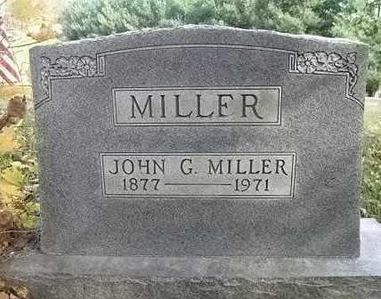 MILLER, JOHN G. - Vinton County, Ohio | JOHN G. MILLER - Ohio Gravestone Photos