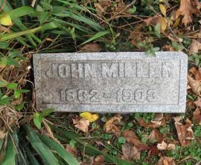 MILLER, JOHN - Vinton County, Ohio | JOHN MILLER - Ohio Gravestone Photos