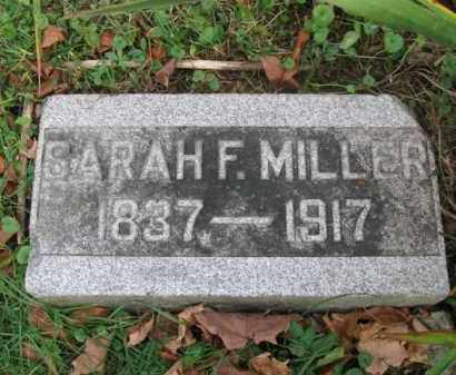 FLETCHER MILLER, SARAH - Vinton County, Ohio | SARAH FLETCHER MILLER - Ohio Gravestone Photos