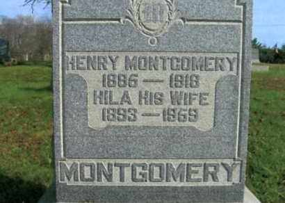 STEELE MONTGOMERY, HILA - Vinton County, Ohio | HILA STEELE MONTGOMERY - Ohio Gravestone Photos