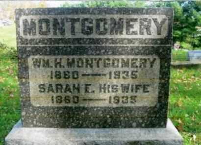 MONTGOMERY, WILLIAM H. - Vinton County, Ohio | WILLIAM H. MONTGOMERY - Ohio Gravestone Photos