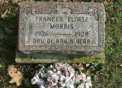 MORRIS, FRANCES ELOISE - Vinton County, Ohio | FRANCES ELOISE MORRIS - Ohio Gravestone Photos