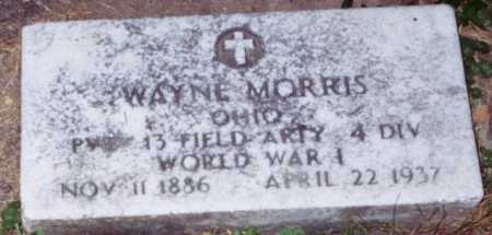MORRIS, WAYNE - Vinton County, Ohio | WAYNE MORRIS - Ohio Gravestone Photos