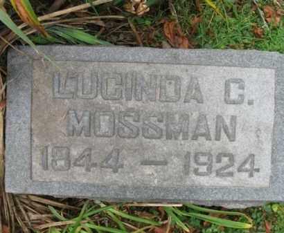 MOSSMAN, LUCINDA C. - Vinton County, Ohio | LUCINDA C. MOSSMAN - Ohio Gravestone Photos