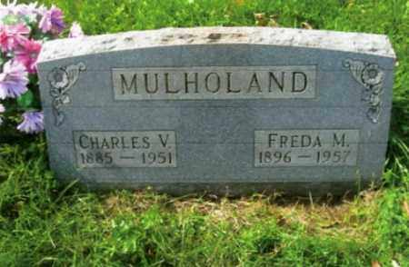 ALBEN MULHOLAND, FREDA M. - Vinton County, Ohio | FREDA M. ALBEN MULHOLAND - Ohio Gravestone Photos