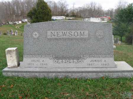 LYLE NEWSOM, IRENE A. - Vinton County, Ohio | IRENE A. LYLE NEWSOM - Ohio Gravestone Photos