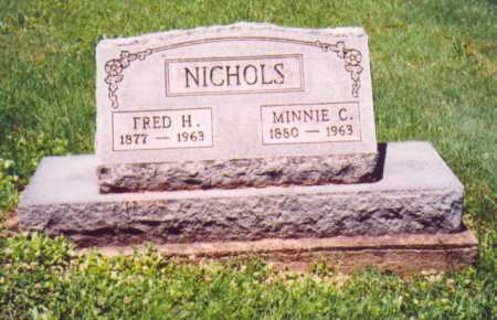 NICHOLS, MINNIE C. - Vinton County, Ohio | MINNIE C. NICHOLS - Ohio Gravestone Photos