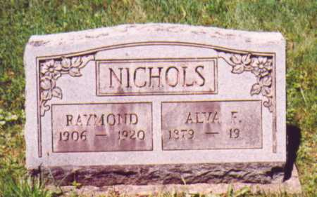 NICHOLS, RAYMOND - Vinton County, Ohio | RAYMOND NICHOLS - Ohio Gravestone Photos