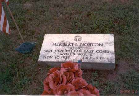 NORTON, HERBERT L. - Vinton County, Ohio | HERBERT L. NORTON - Ohio Gravestone Photos