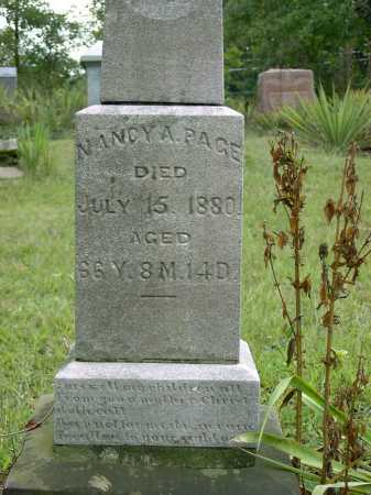 PAGE, NANCY ANN - Vinton County, Ohio | NANCY ANN PAGE - Ohio Gravestone Photos