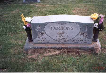 "PARSONS, WOODROW ""POOD"" - Vinton County, Ohio 