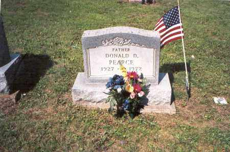 PEARCE, DONALD  D. - Vinton County, Ohio | DONALD  D. PEARCE - Ohio Gravestone Photos