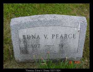 PEARCE, EDNA V. - Vinton County, Ohio | EDNA V. PEARCE - Ohio Gravestone Photos