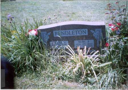 PENDLETON, SAMUEL V. - Vinton County, Ohio | SAMUEL V. PENDLETON - Ohio Gravestone Photos