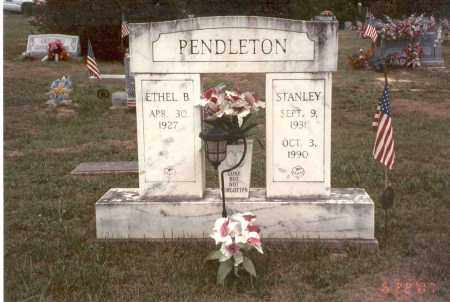 PENDLETON, STANLEY - Vinton County, Ohio | STANLEY PENDLETON - Ohio Gravestone Photos