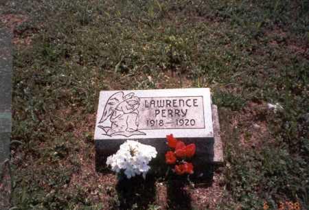 PERRY, LAWRENCE - Vinton County, Ohio   LAWRENCE PERRY - Ohio Gravestone Photos