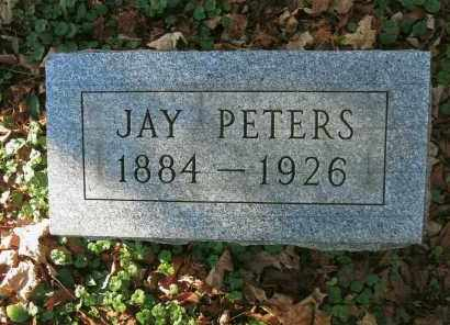 PETERS, JAY - Vinton County, Ohio | JAY PETERS - Ohio Gravestone Photos