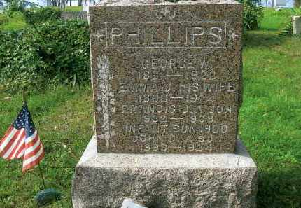 PHILLIPS, JOHN D. - Vinton County, Ohio | JOHN D. PHILLIPS - Ohio Gravestone Photos