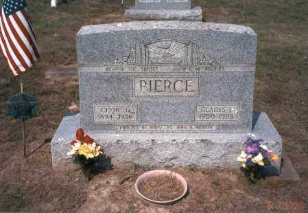 PIERCE, GLADYS L. - Vinton County, Ohio | GLADYS L. PIERCE - Ohio Gravestone Photos