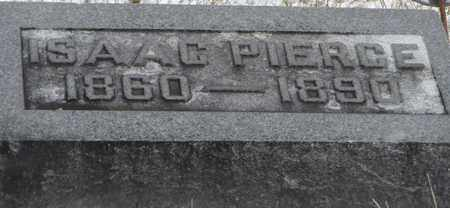 PIERCE, ISAAC - Vinton County, Ohio | ISAAC PIERCE - Ohio Gravestone Photos