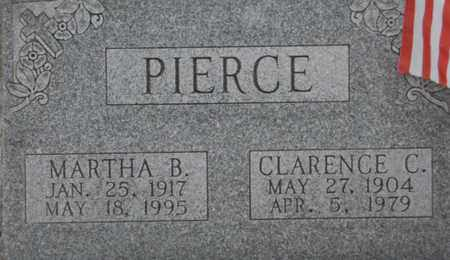 PIERCE, CLARENCE C - Vinton County, Ohio | CLARENCE C PIERCE - Ohio Gravestone Photos
